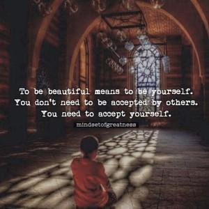 accept urself