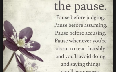 Practice the Pause by Lori Deschene